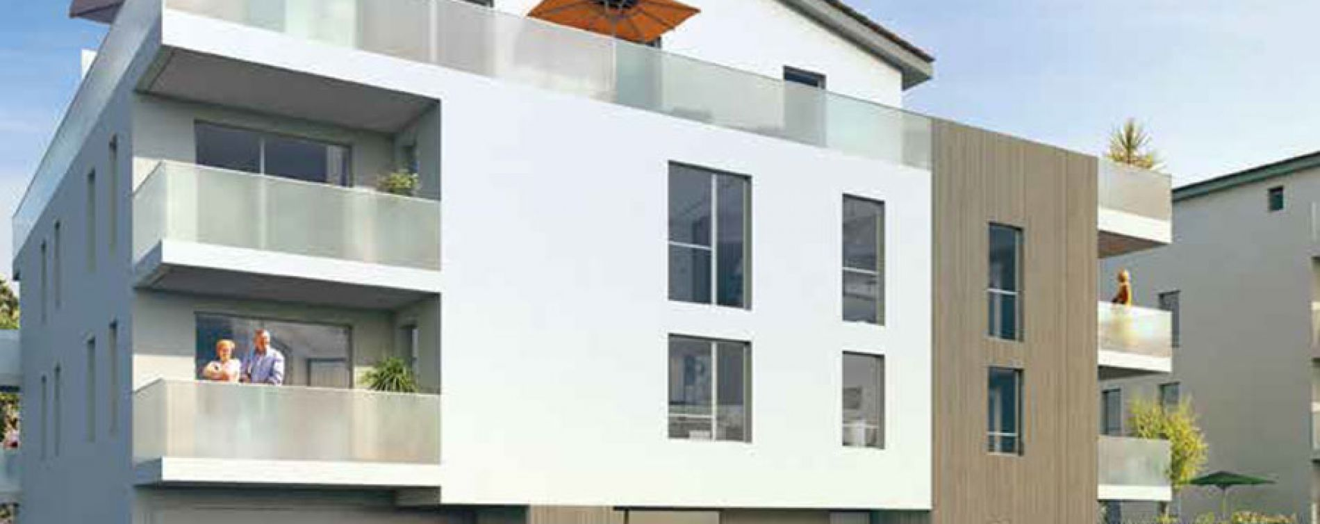 Irigny : programme immobilier neuve « Monts Village »