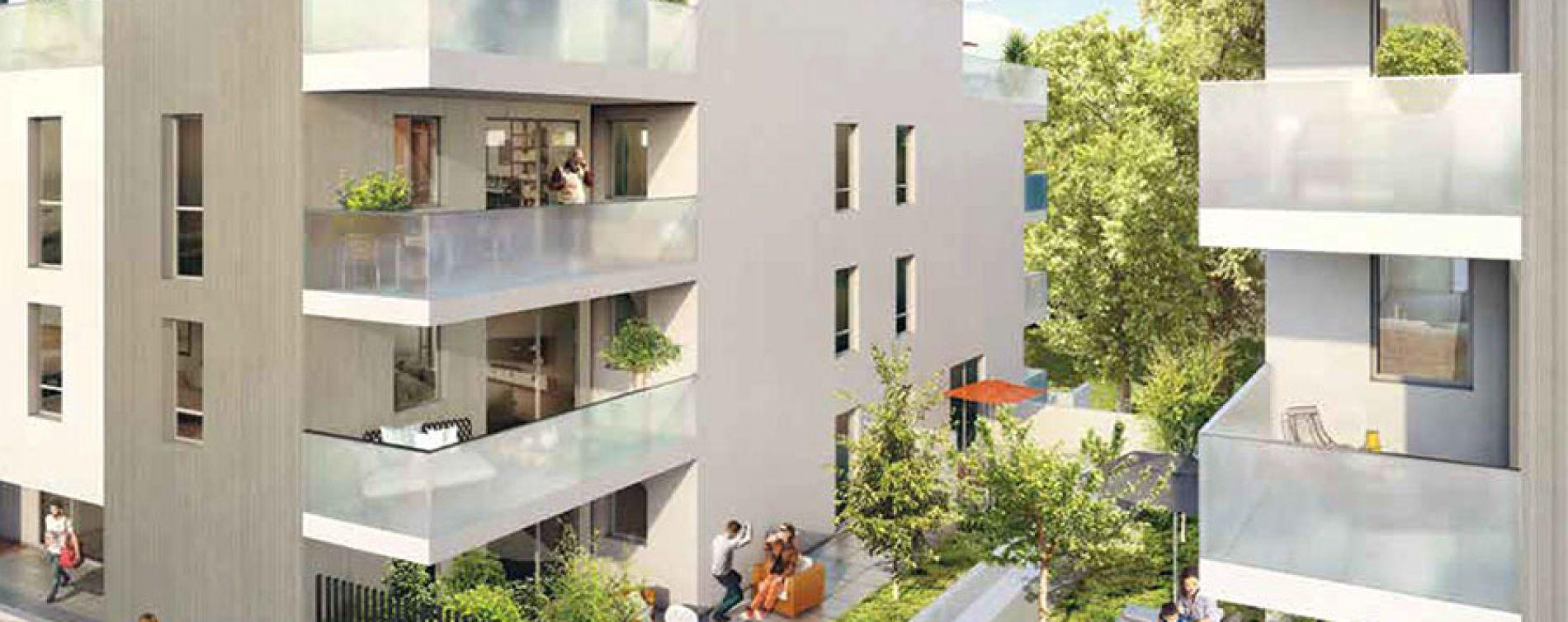 Irigny : programme immobilier neuve « Monts Village » (2)