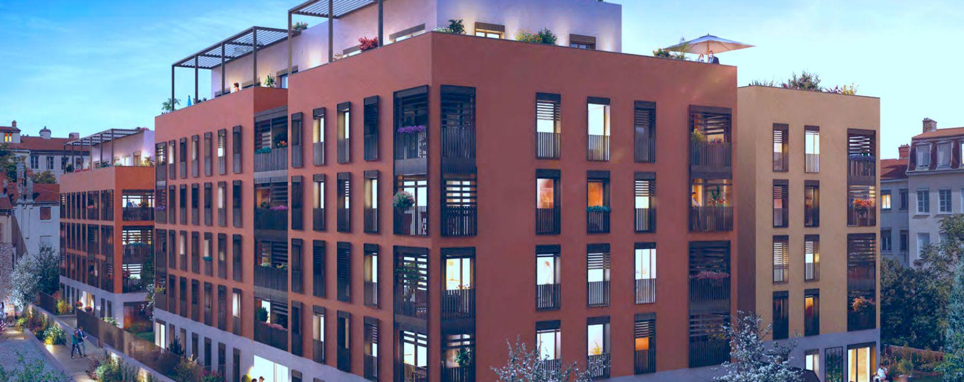 Lyon : programme immobilier neuve « Programme immobilier n°216405 »