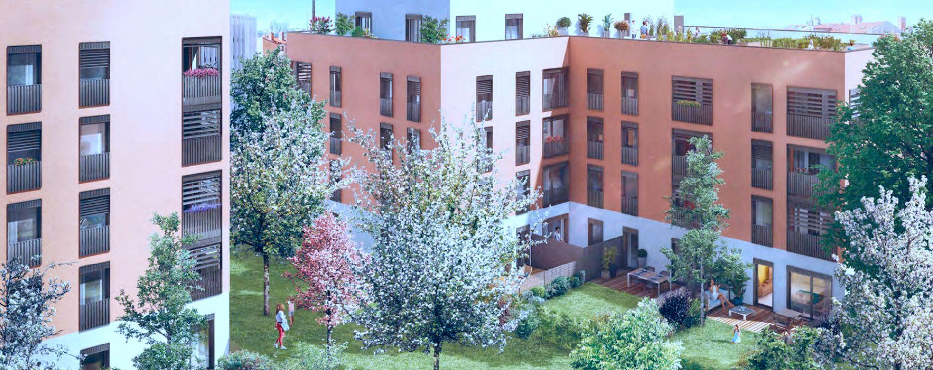 Lyon : programme immobilier neuve « Programme immobilier n°216405 » (5)