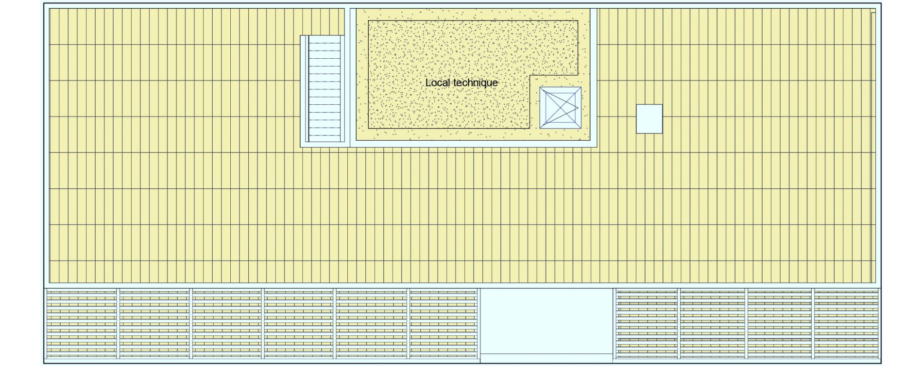 Appartement T7 de 174,12 m2 à Lyon La croix-rousse (1er/4eme)