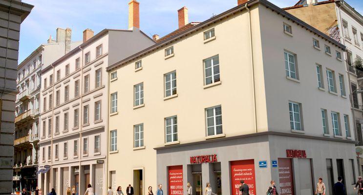 Lyon programme immobilier à rénover « 27 » en Déficit Foncier