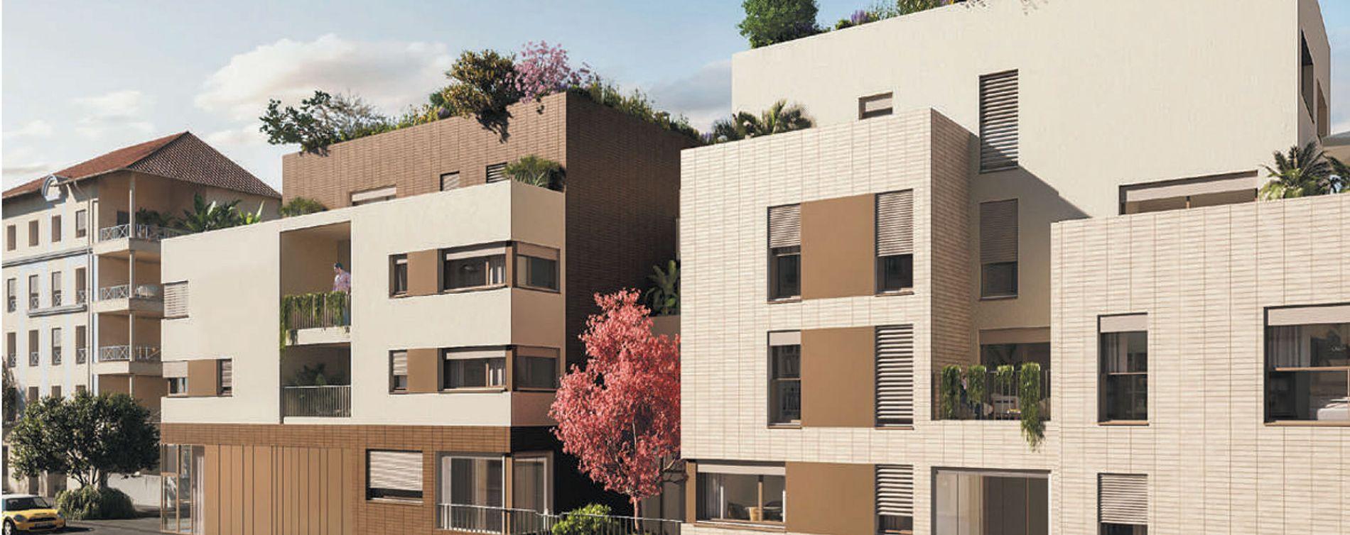Lyon : programme immobilier neuve « 3ème Art » en Loi Pinel