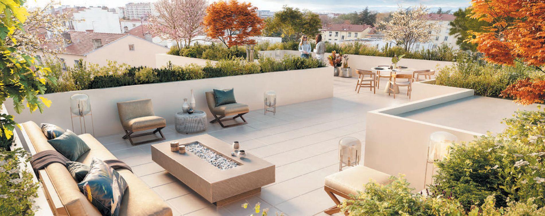 Lyon : programme immobilier neuve « 3ème Art » en Loi Pinel (2)