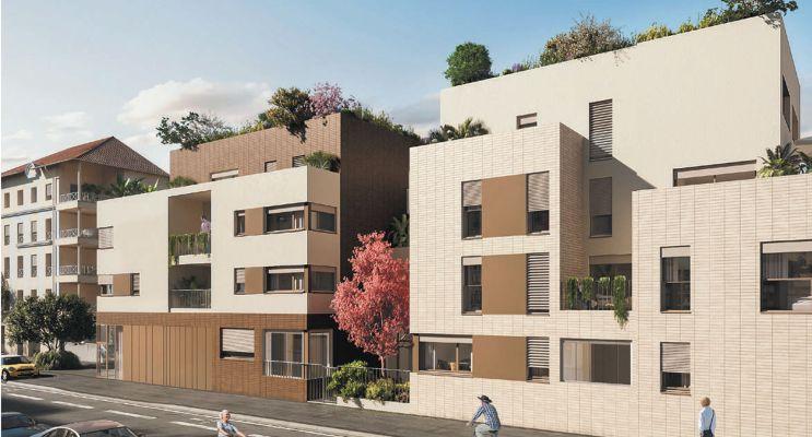 Lyon : programme immobilier neuf « 3ème Art » en Loi Pinel