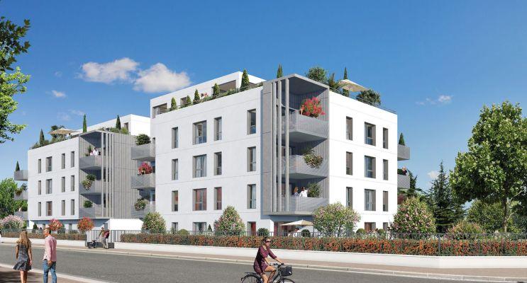 Résidence « 5'Osmose » programme immobilier neuf en Loi Pinel à Lyon n°1