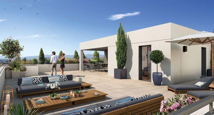 Résidence « 5'Osmose » programme immobilier neuf en Loi Pinel à Lyon n°2