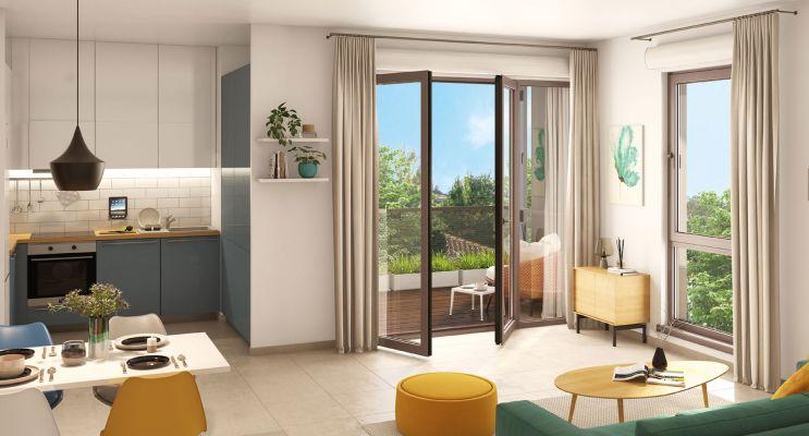 Résidence « 5'Osmose » programme immobilier neuf en Loi Pinel à Lyon n°3