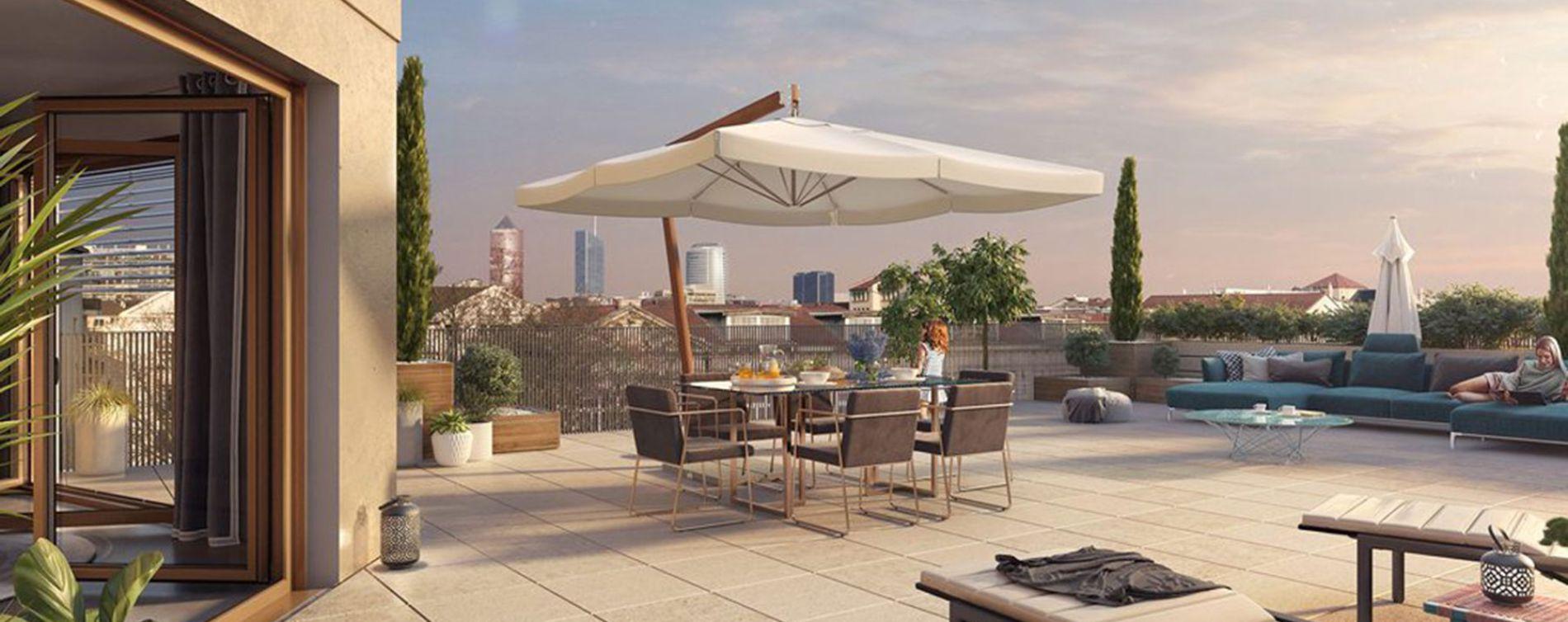Lyon : programme immobilier neuve « Arty » en Loi Pinel