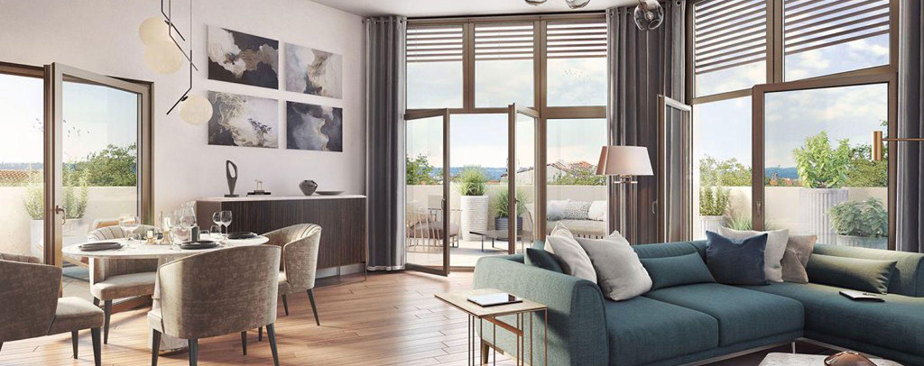 Lyon : programme immobilier neuve « Arty » en Loi Pinel (2)