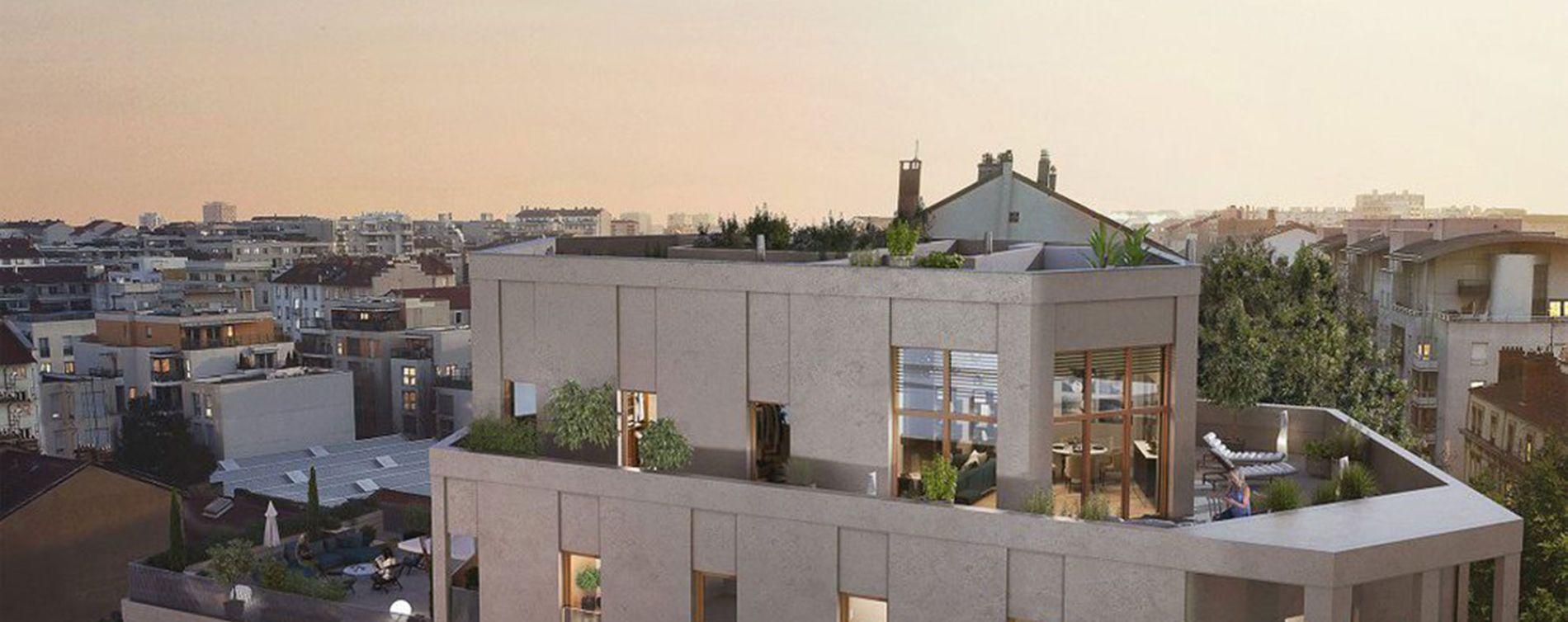 Lyon : programme immobilier neuve « Arty » en Loi Pinel (3)