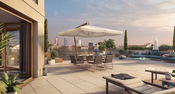 Lyon : programme immobilier neuf « Arty » en Loi Pinel