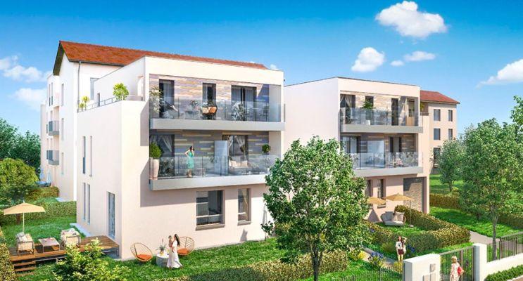 Photo du Résidence « Comme au Fil de l'Eau » programme immobilier neuf en Loi Pinel à Lyon
