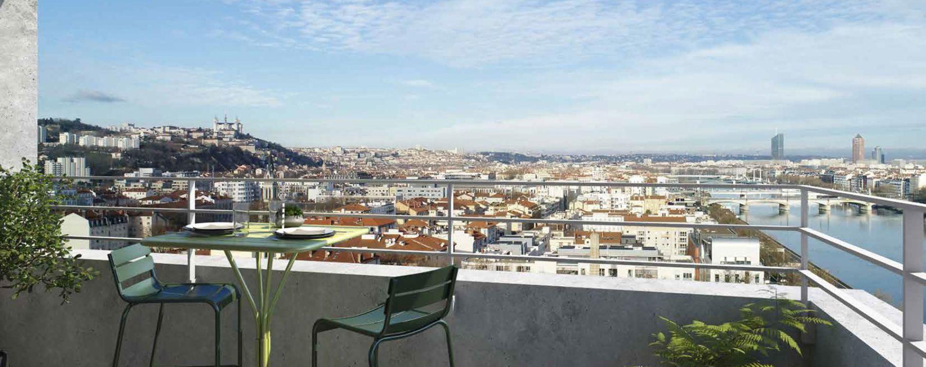 Lyon : programme immobilier neuve « échO » en Loi Pinel (3)