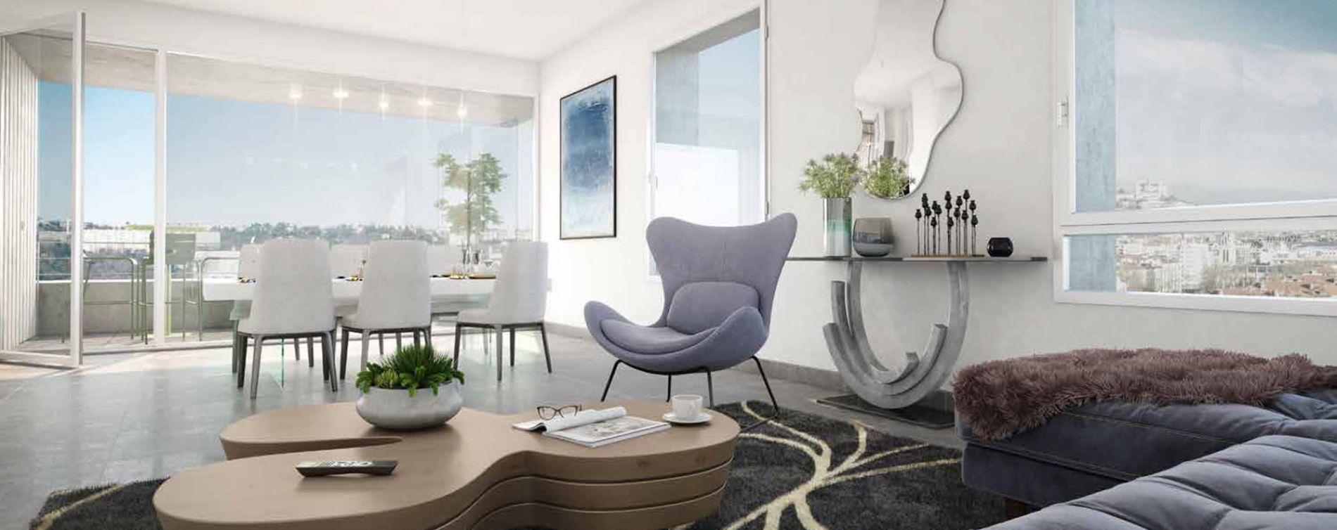 Lyon : programme immobilier neuve « échO » en Loi Pinel (4)