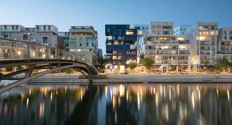 Lyon : programme immobilier neuf « échO » en Loi Pinel