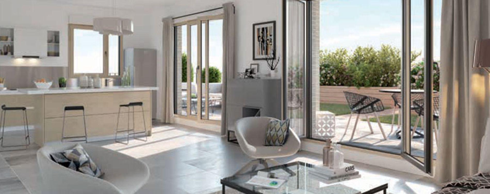 Lyon : programme immobilier neuve « Esprit Croix-Rousse » (4)