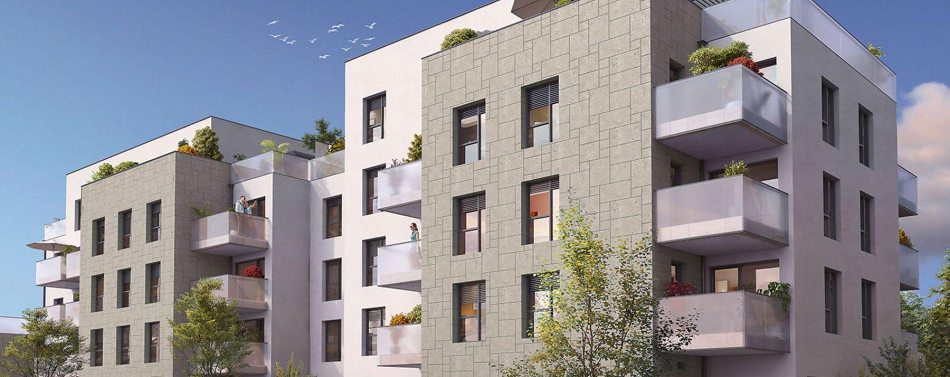 Lyon : programme immobilier neuve « Esprit Lumière » en Loi Pinel