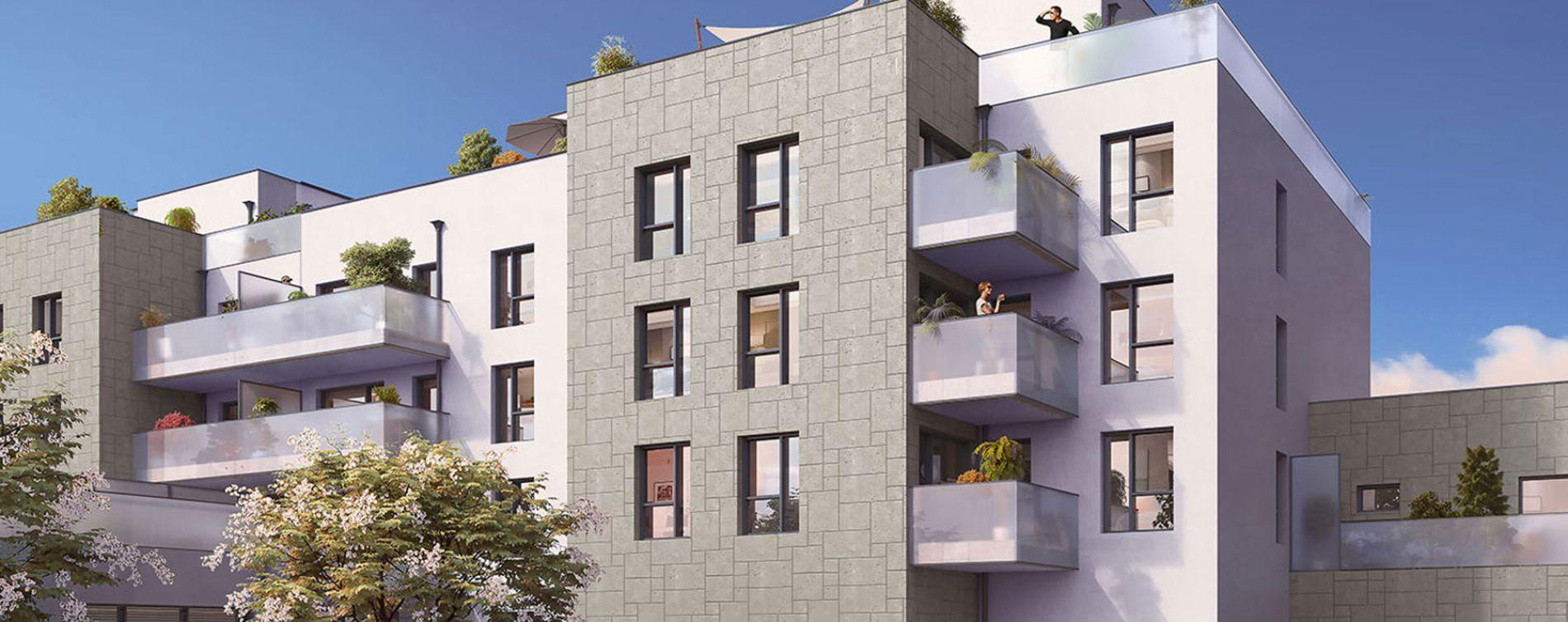 Lyon : programme immobilier neuve « Esprit Lumière » en Loi Pinel (2)