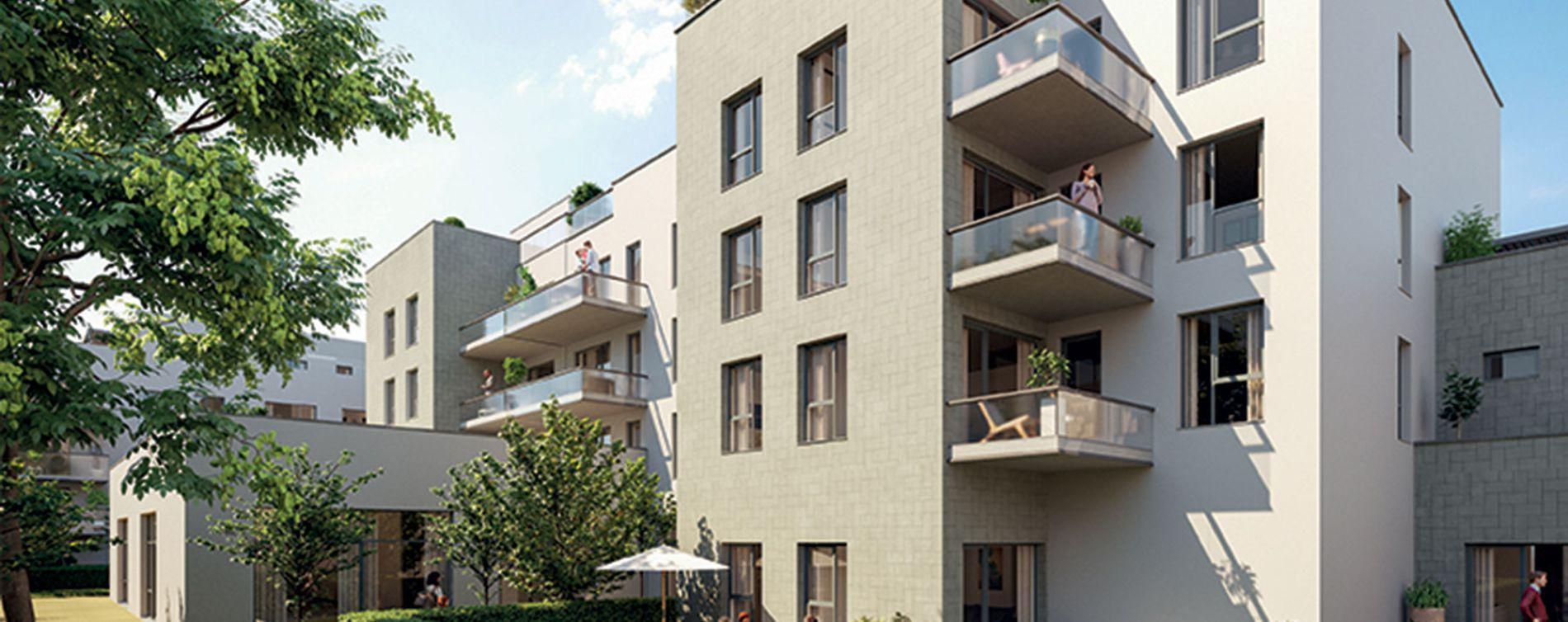 Lyon : programme immobilier neuve « Esprit Lumière » en Loi Pinel (3)