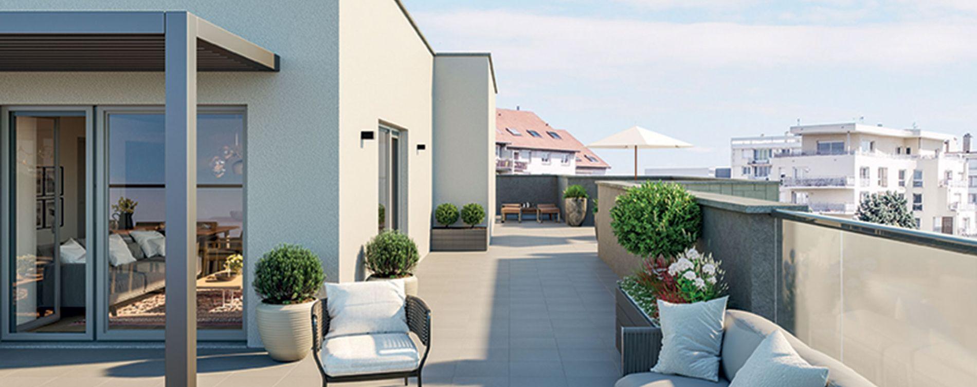 Lyon : programme immobilier neuve « Esprit Lumière » en Loi Pinel (4)