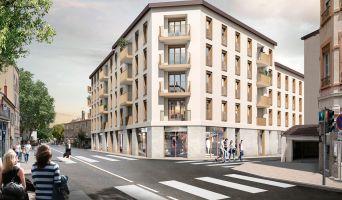 Lyon : programme immobilier neuf « Faubourg Valmy » en Loi Pinel
