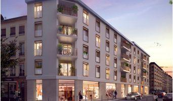 Lyon programme immobilier neuve « Faubourg Valmy » en Loi Pinel  (3)