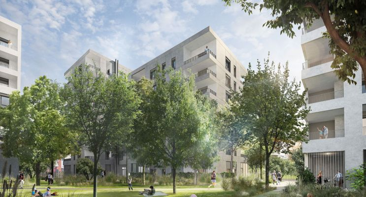 Photo n°2 du Résidence « Interface » programme immobilier neuf en Loi Pinel à Lyon