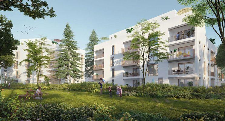 Résidence « Ivory Park » programme immobilier neuf en Loi Pinel à Lyon n°1