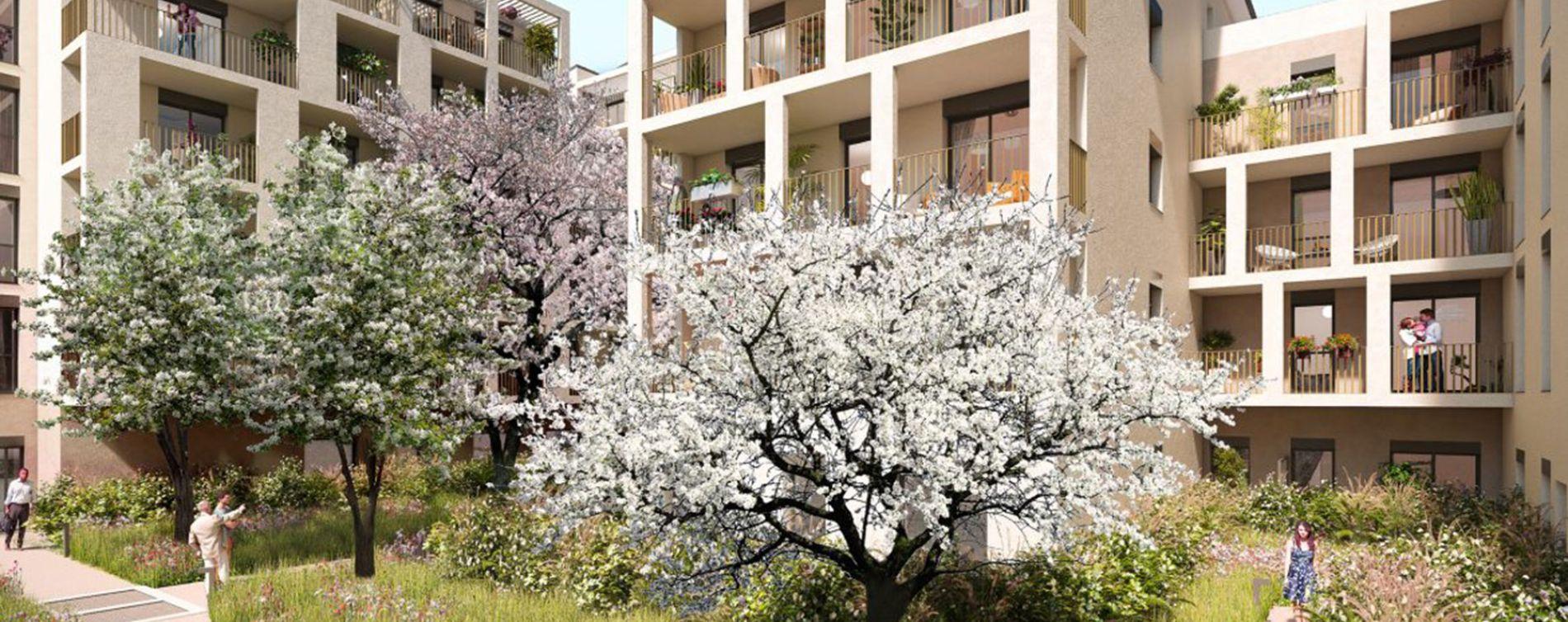 Lyon : programme immobilier neuve « Lithograf »