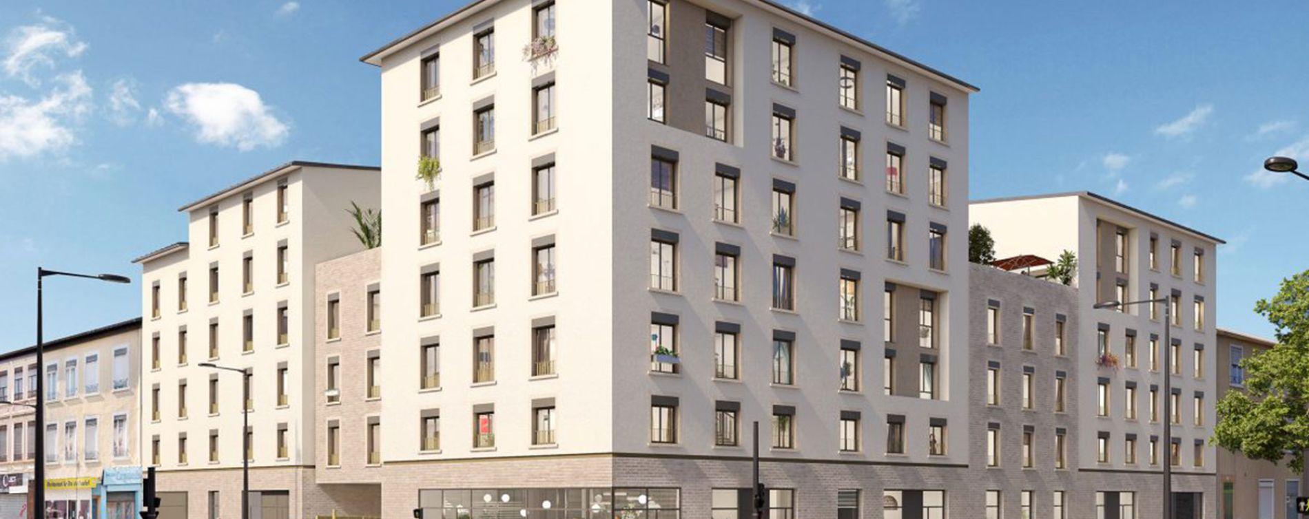 Lyon : programme immobilier neuve « Lithograf » (3)