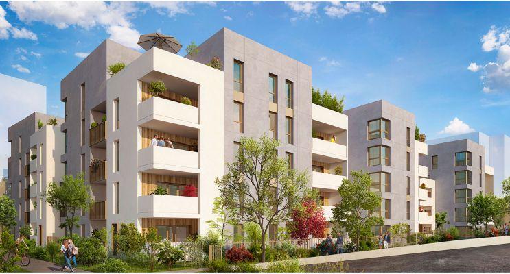 Photo du Résidence « Millésime » programme immobilier neuf en Loi Pinel à Lyon