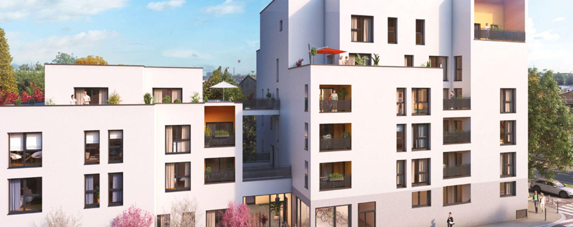 Lyon : programme immobilier neuve « Néo »