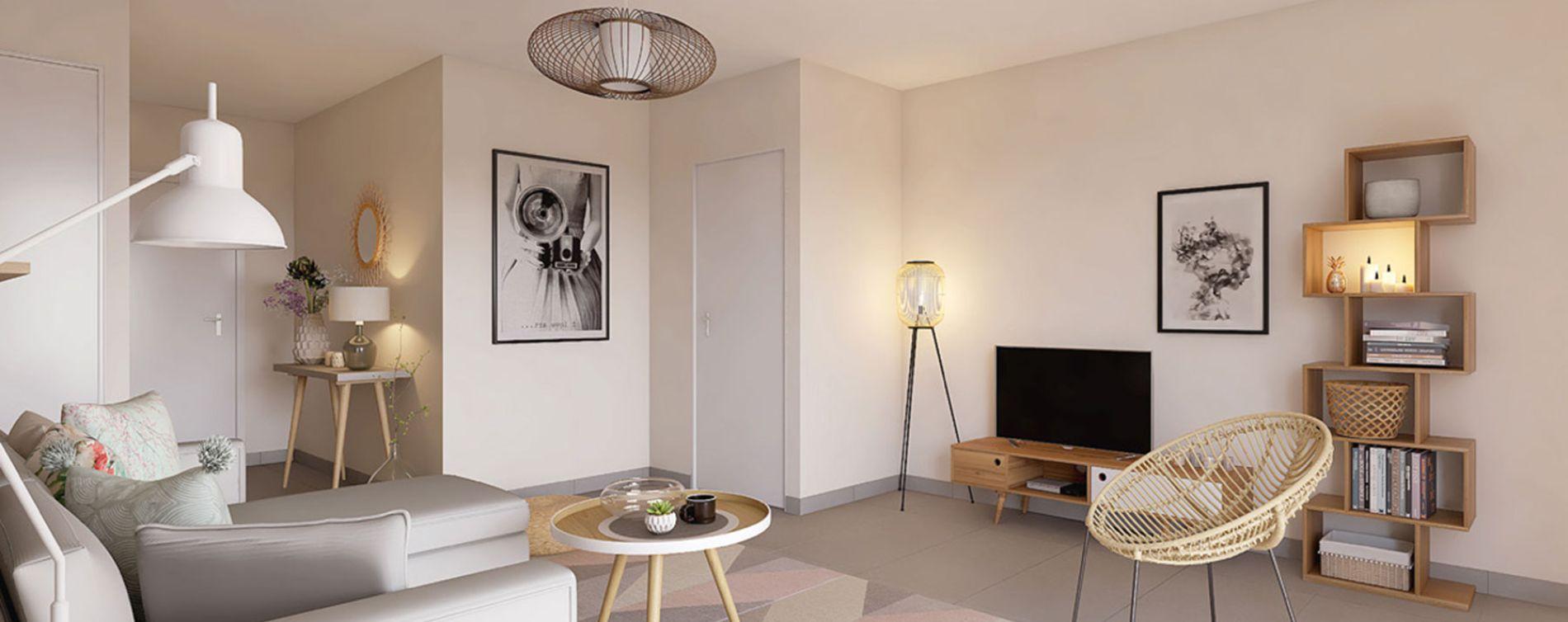 Lyon : programme immobilier neuve « Néo » (2)