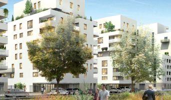 Lyon programme immobilier neuve « Oasis Parc - L'Ecureuil du Parc »  (2)