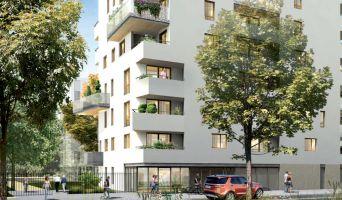 Lyon programme immobilier neuve « Oasis Parc - L'Ecureuil du Parc »  (3)