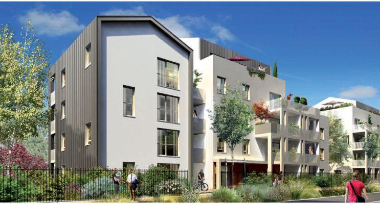 Photo du Résidence « Oasis Parc - L'Ecureuil du Parc » programme immobilier neuf à Lyon