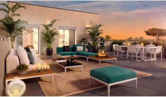 Lyon programme immobilier neuve « Pur Valmy Bat. B » en Loi Pinel  (2)