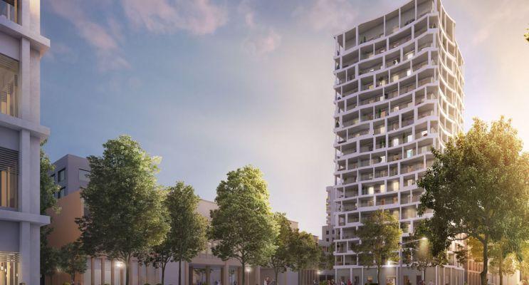 Photo du Résidence « So'Ô - Confluence » programme immobilier neuf en Loi Pinel à Lyon