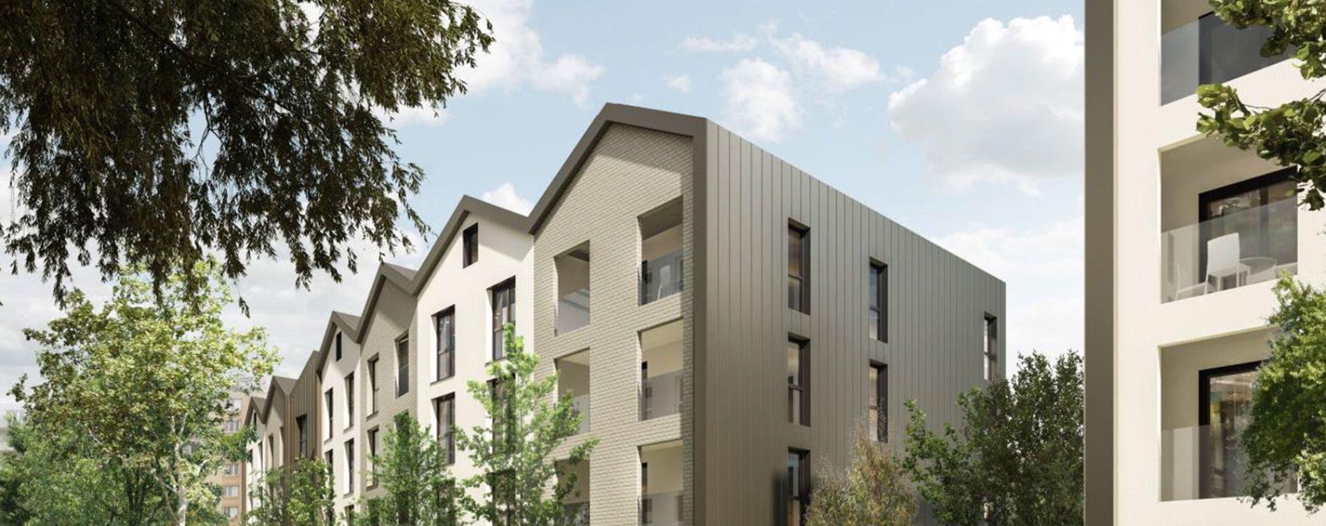 Lyon : programme immobilier neuve « Urban 7 » en Loi Pinel