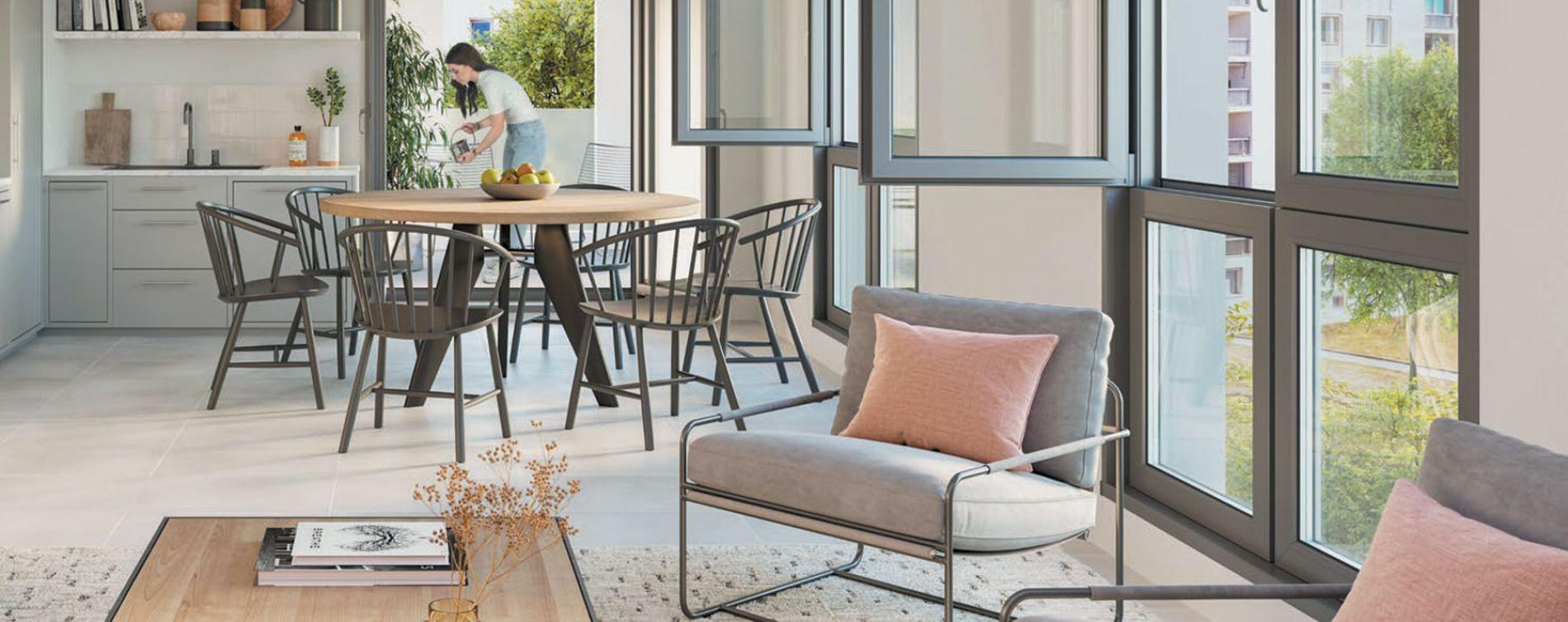Lyon : programme immobilier neuve « Urban 7 » en Loi Pinel (3)