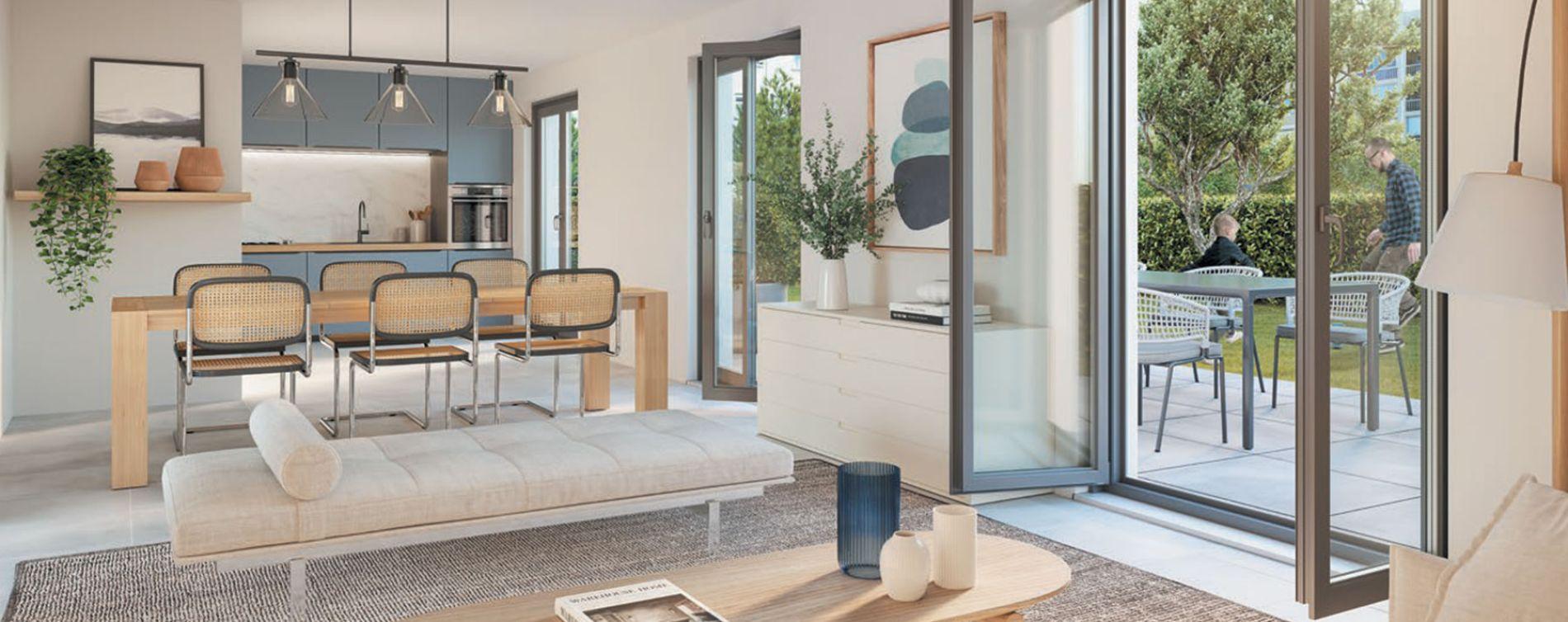 Lyon : programme immobilier neuve « Urban 7 » en Loi Pinel (4)