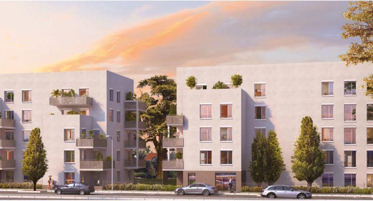 Lyon programme immobilier neuf « Vert Million » en Loi Pinel