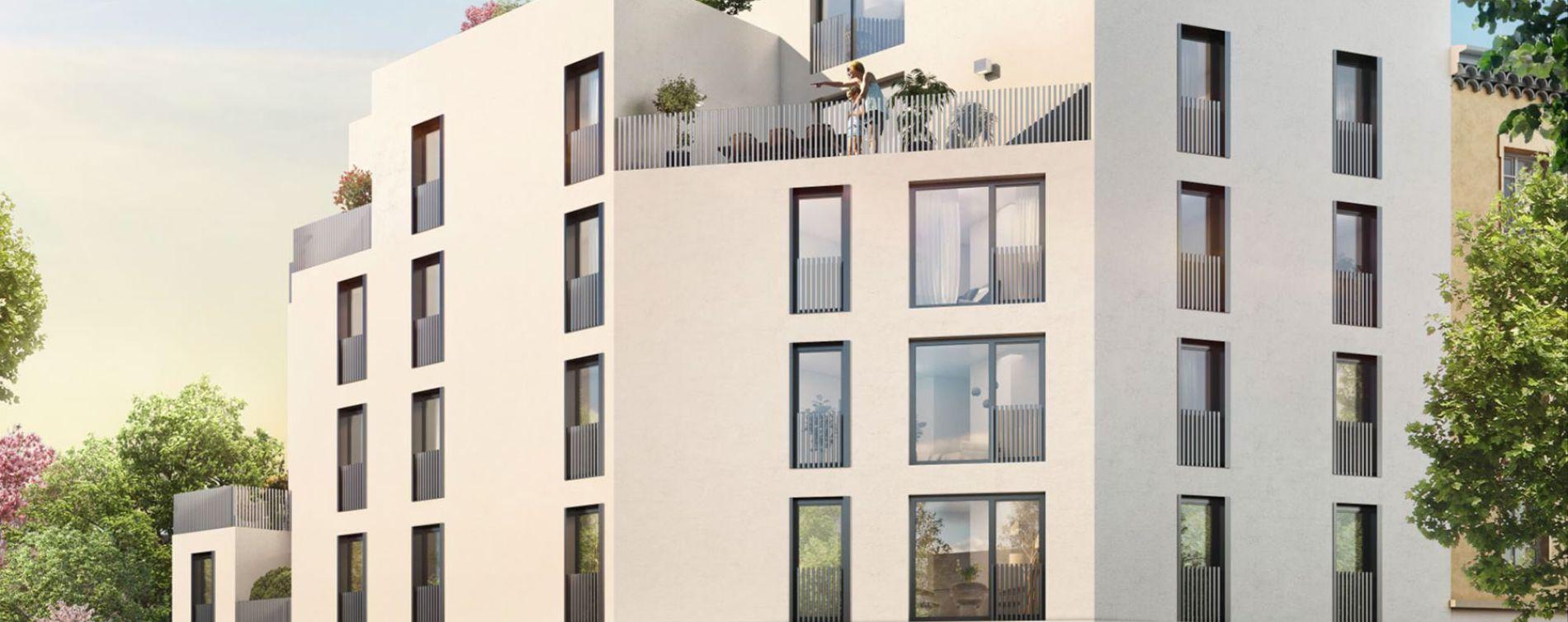 Lyon : programme immobilier neuve « Villa Lucia »