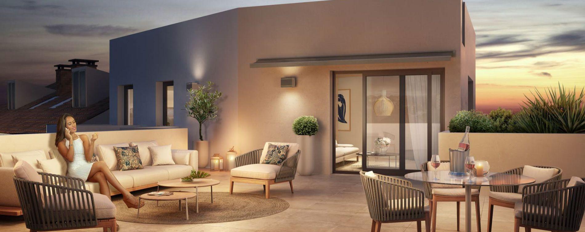 Lyon : programme immobilier neuve « Villa Lucia » (2)