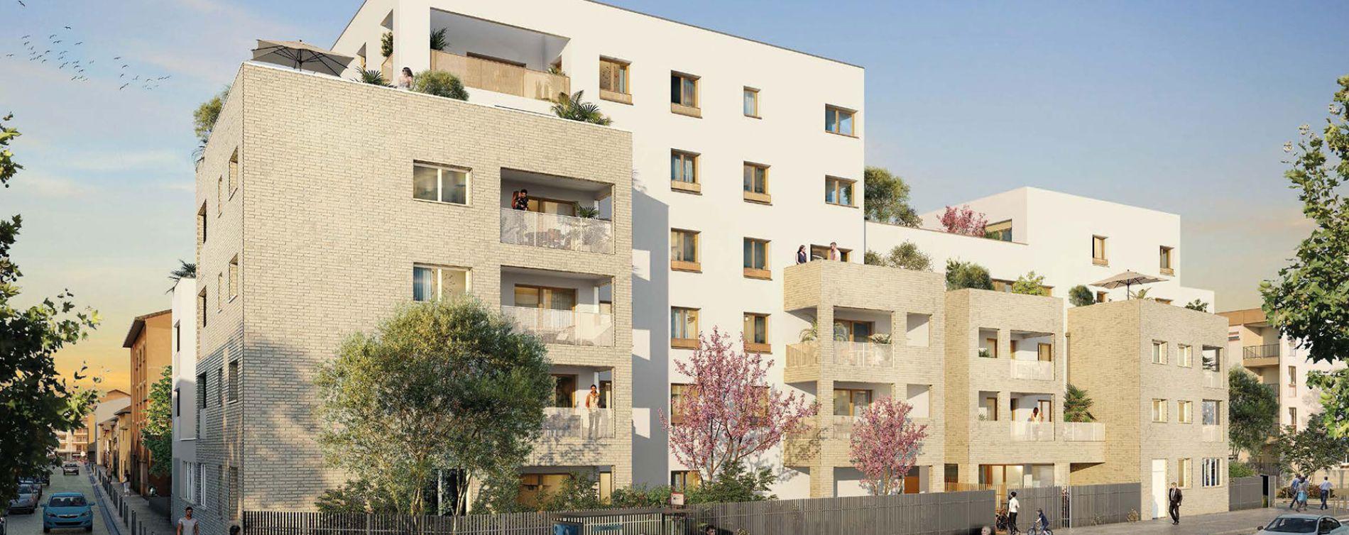 Lyon : programme immobilier neuve « Villa Solal » en Loi Pinel