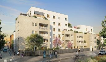 Lyon programme immobilier neuf « Villa Solal » en Loi Pinel