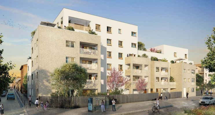 Lyon : programme immobilier neuf « Villa Solal » en Loi Pinel