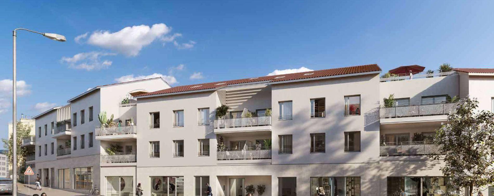 Marcy-l'Étoile : programme immobilier neuve « Programme immobilier n°218628 » en Loi Pinel