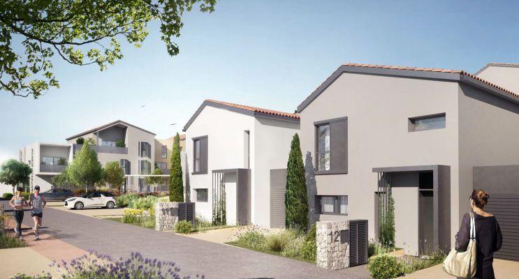 Photo n°1 du Résidence « Les Jardins D'Agathe » programme immobilier neuf en Loi Pinel à Meyzieu